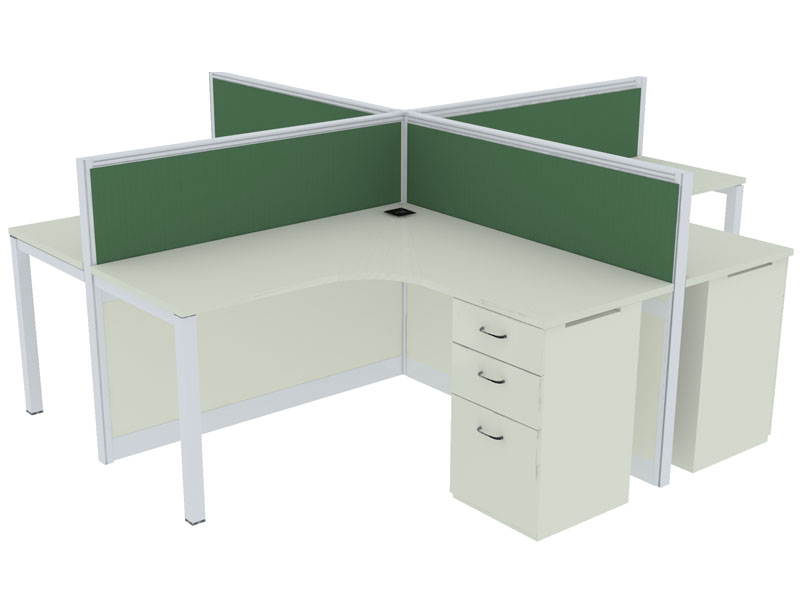 Panels Corner Modular Office Workstations in Bangalore