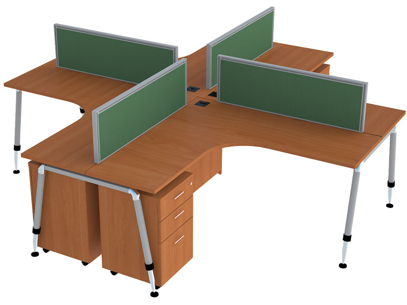 RLC Corner Modular Office Workstations in Bangalore