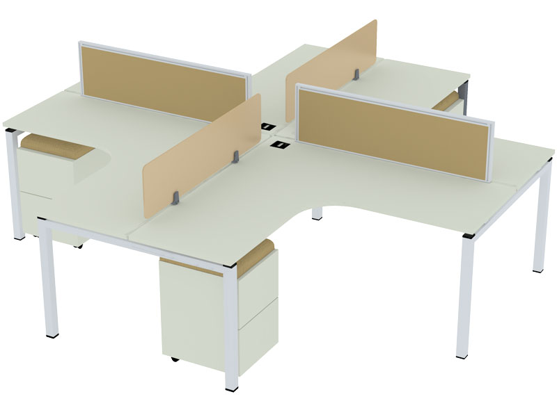 SL50 Corner Modular Office Workstations in Aligarh