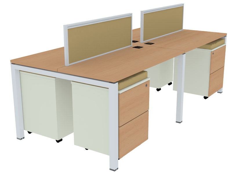 SL50 Linear Modular Office Workstations in Aligarh