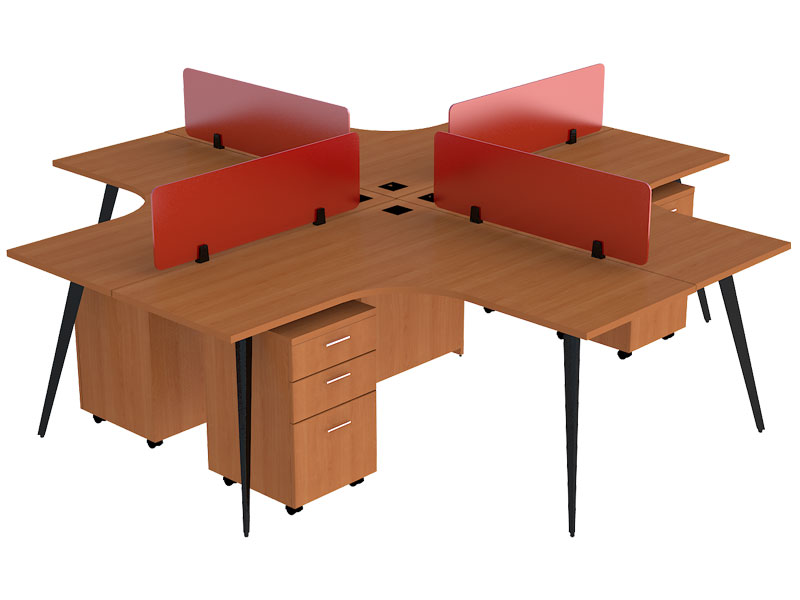 Spark Corner Modular Office Workstations in Aligarh
