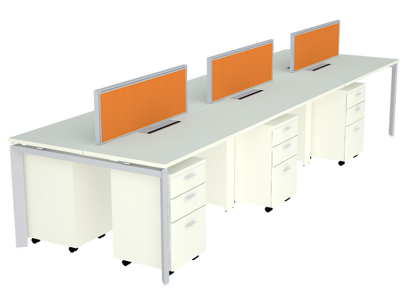 TL55 Linear Modular Office Workstations in Bangalore