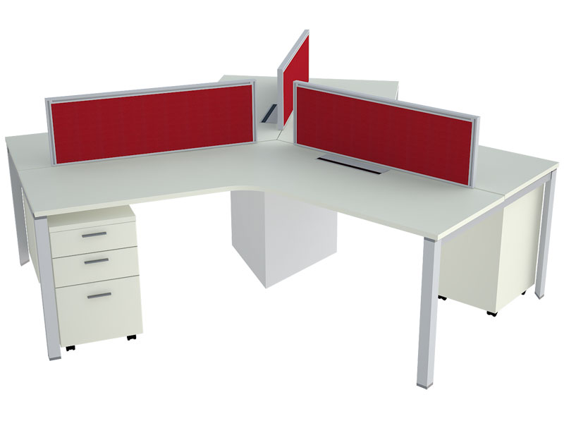 TL55 Corner Modular Office Workstations in Bangalore