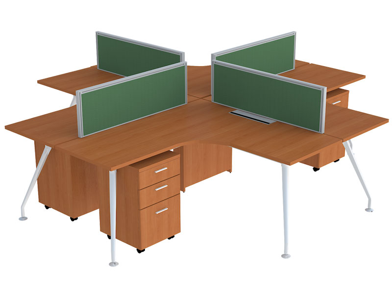 Neptune Corner Modular Office Workstations in Bangalore