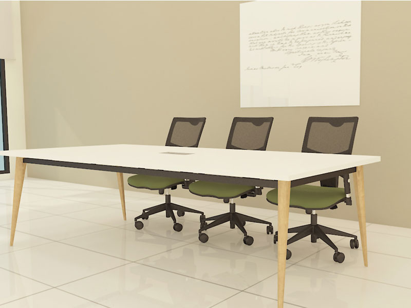 Spark Wood Desking Office Workstation 3