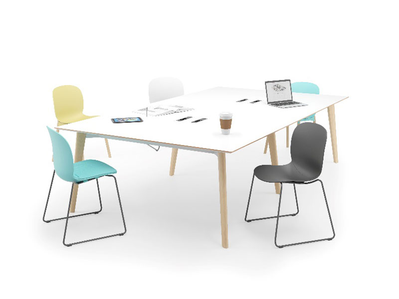 Spark Wood Desking Office Workstation 13