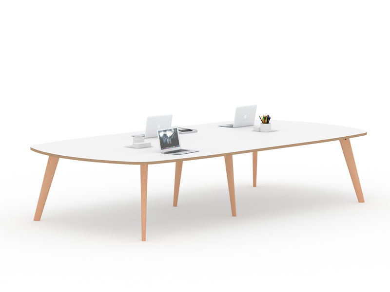 Spark Wood Desking Office Workstation 6