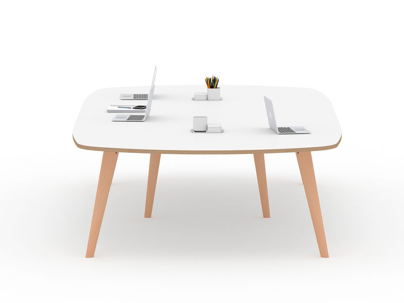Spark Wood Desking Office Workstation 7