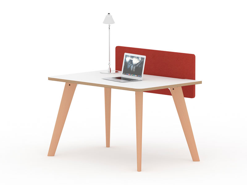 Spark Wood Desking Office Workstation 5